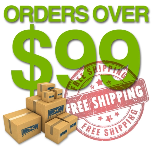 For orders over 99 being delivered through ups standard shipping