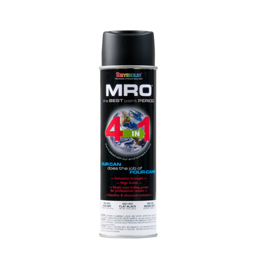 MRO High Solids Paint - Flat Black