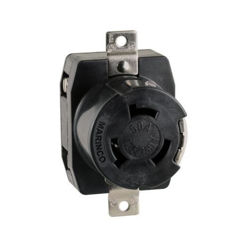 Pedestal Electrical Outlets : Power pedestal electrical outlet receptacle amp volt