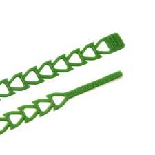Reusable Flexible Straps - Green