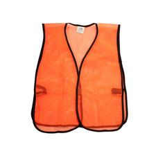 Orange Non-reflective Safety Vest
