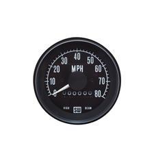 0-80 MPH Heavy-Duty Series Speedometer