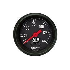 Auto Meter Z-Series Air Pressure Gauge