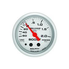 Auto Meter Ultra-Lite Boost-Vacuum Gauge