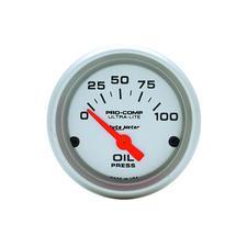 AutoMeter Ultra-Lite Oil Pressure Gauge