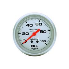 Auto Meter Ultra-Lite Oil Pressure Gauge