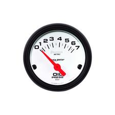 Auto Meter Phantom Oil Pressure Gauges
