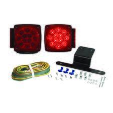 Square Tail Light Kit - Micro-Flex