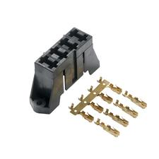 ATC and ATO 4-way Stackable Fuse Block - Automotive and Marine