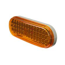 "6.5"" Oval Stop, Tail, Turn Lights"
