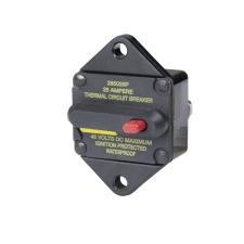 Hi-Amp Panel Mount Circuit Breakers - Manual Reset (Switchable)