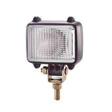 Square, Compact, Halogen Flood Work Lamp