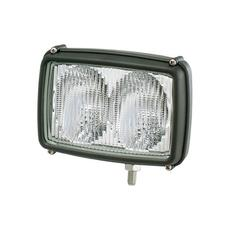 Rectangular, Twin Beam, Halogen Flood Work Lamp