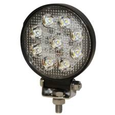 Round 8 LED Flood Work Light
