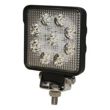 Square 9 LED Flood Work Light