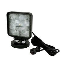 Square 5 LED Flood Work Light - Magnet Mount