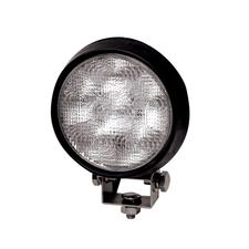 6 LED Round - Rubber