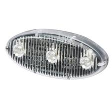 Self Adhesive Oval LED Warning Light