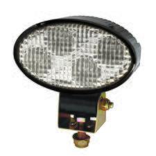 4 LED Oval