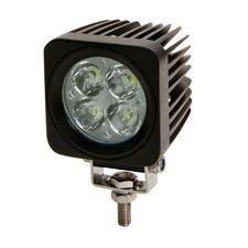 Square 4 LED Flood Beam Light