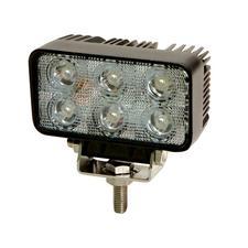 Rectangular 6 LED Flood Beam Light