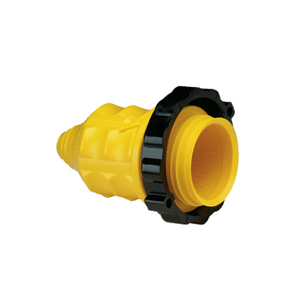 Weatherproof RV Power Connector Covers