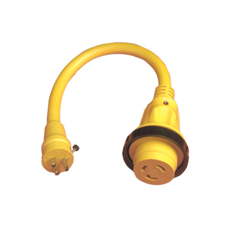 15A Male - 30A Female Pigtail Adapter