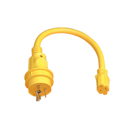 50A Male - 30A Female Pigtail Adapter