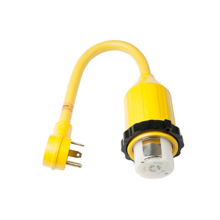 30A Male - 50A Female Pigtail Adapter