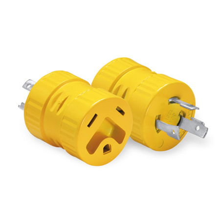 30 Amp, 3 Prong Generator Plug Adapter