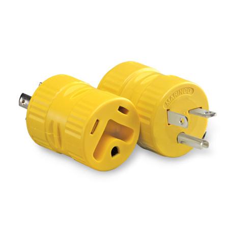 20A, Straight Blade Generator Plug Adapter