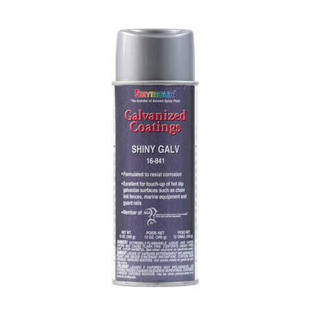 Galvanized Coating Primer - Shiny Finish