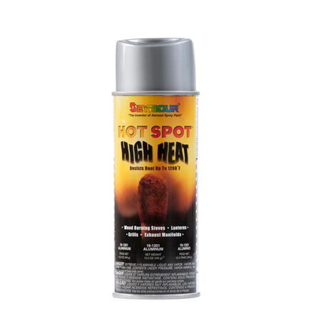 Hot Spot Heat Resistant Spray Paint Coating - Aluminum