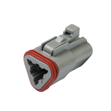 Deutsch 3-Way Plug