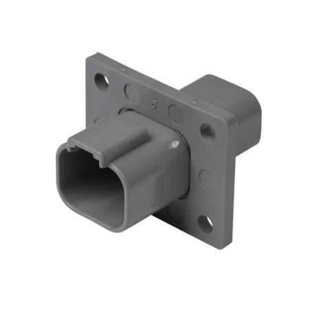 DT Series Flange Mount Receptacle