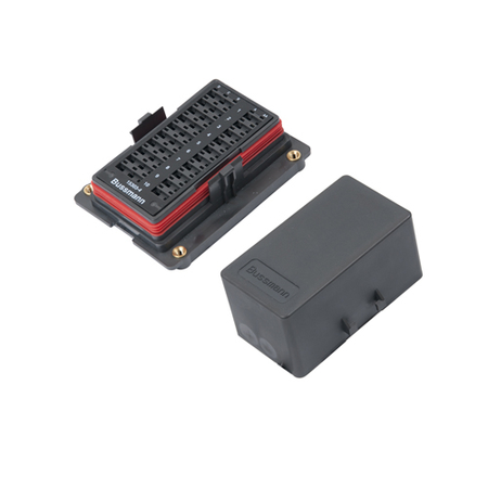 Sealed Mini Fuse & ISO 280 Mini Relay Combo Panel - Individual Inputs