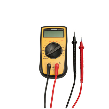 4-Function Manual Range Digital Multimeter