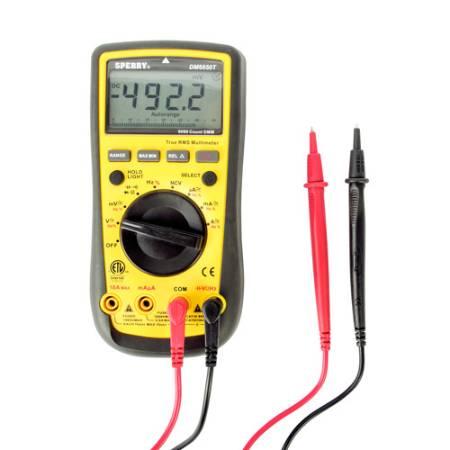 True RMS 10 Function Digital Multimeter