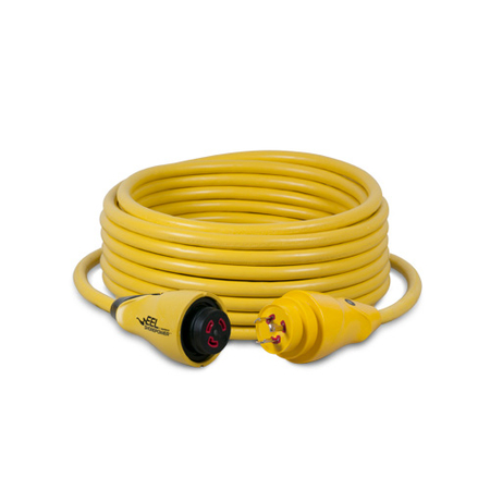 EEL ShorePower Cordset - Yellow