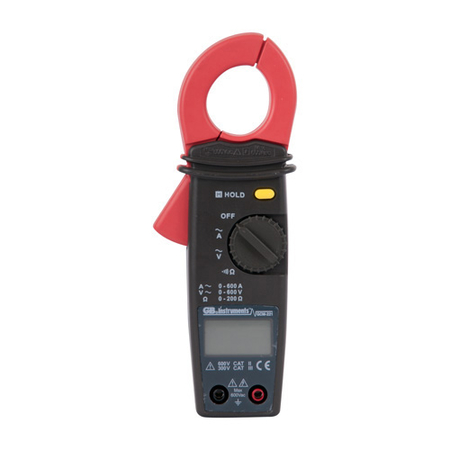3 Function Digital Compact Clamp Meter