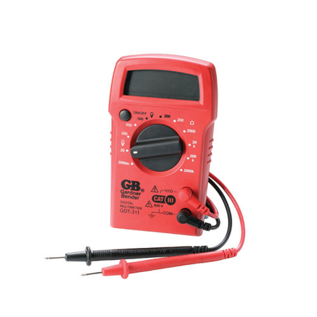 11 Range Digital Multimeter
