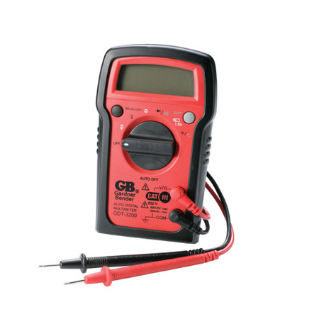 7 Function Auto Ranging Digital Multimeter