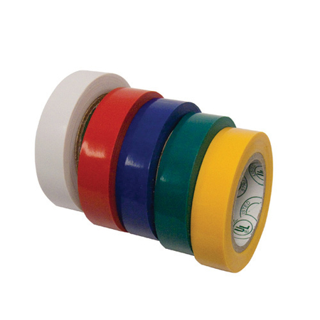Assorted Color Electrical Tape