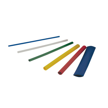 "3"" Colored Heat Shrink Tubing"