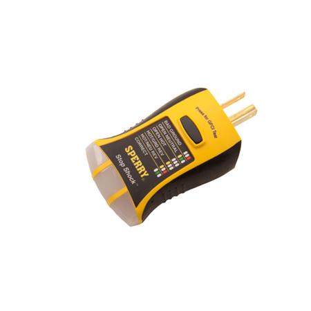 Stop Shock GFCI Circuit Tester