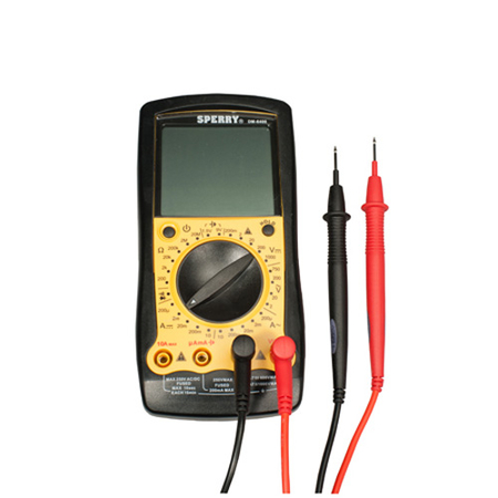 8 Function Digital Multimeter