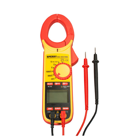 True RMS 10 Function Digital Snap-Around Clamp Meter