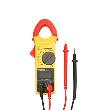 6 Function Digital Snap-Around Clamp Meter