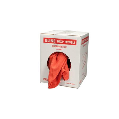 Red Shop Towels