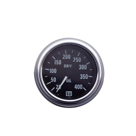 25-400psi - Drive Deluxe Transmission Oil Pressure Gauge